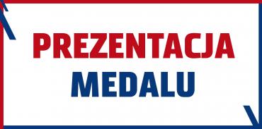 Prezentacja medalu IV edycji Pyrzycka Szybka Dycha FIEGE