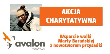 Akcja charytatywna dla Marty Barańskiej