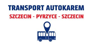 Transport natrasie Szczecin-Pyrzyce-Szczecin